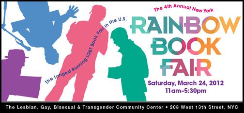 Rainbow Book Fair, March 24, NYC